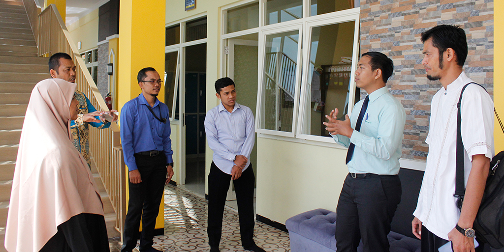 Building A Synergy, Tazkia IIBS Kindly Welcomes A Visit from Yayasan Garis Pena, West Sumatra